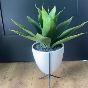 Accents - COPY - Modern fake potted plant